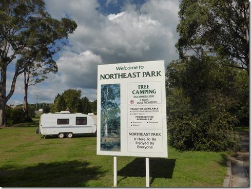 Free camping – Norty Bits